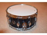 DW Performance Series Snare, Mint Condition w/ ORIGINAL HEADS. (14x6.5)