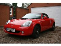 Limited Edition Toyota MR2 1.8 VVT-i Roadster TF300 2dr with hard top and extras included