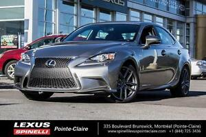 2015 Lexus IS 250 F-SPORT SERIES 3 LEASE $604 + TAX 0 DOWN!!