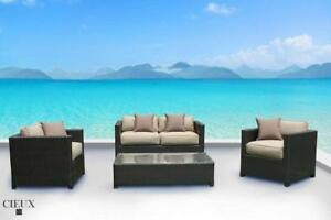 Receive a FREE Gift (up to $399.99 value) with Purchase of Cieux Outdoor Patio Furniture Set In Stock In Kamloops