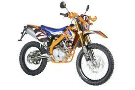 Rieju Maraton Pro 125cc - Orange (Euro 3) 2 Yrs Parts & Labour Warranty - 0% Finance Available