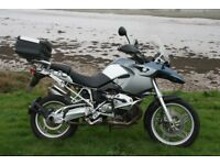 BMW R1200GS 2005 With Full Vario Pannier & Topbox Set + Heated Grips