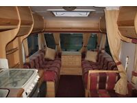 Sterling Eccles Moonstone 2000 4 Berth Caravan + Full Awning + Air conditioning