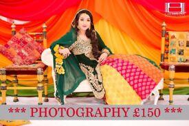 Asian Wedding Photography **£150 Photography**
