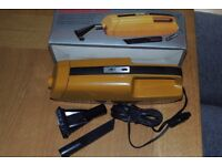 Auto car vacuum cleaner and attachments