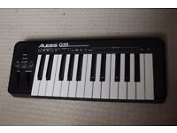 Alesis Q25 25-key midi controller keyboard with USB