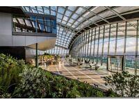 Food Runner for Darwin Brasserie, Sky Garden