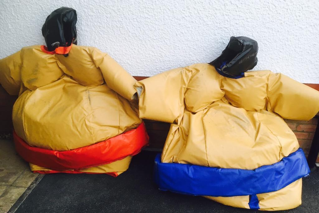 Sport Sumo wrestling suits