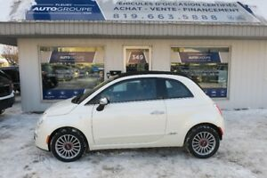 2012 Fiat 500C convertible automatique
