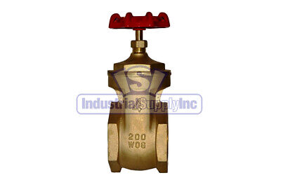 Gate Valve 4 Full Port Brass Industrial Supply