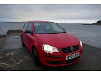 VW Polo , great condition and low mileage for its age .