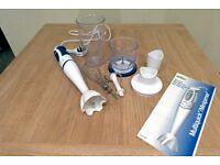Braun MR 4050 450 watt Multiquick Hand Blender with Attachments