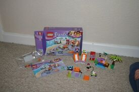 Lego Friends Heartlake Skate Park. 41099. Box and instructions present. Cost £17.99
