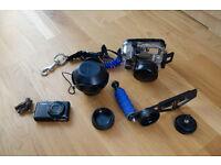 Canon camera, Ikelite housing and Inon lenses