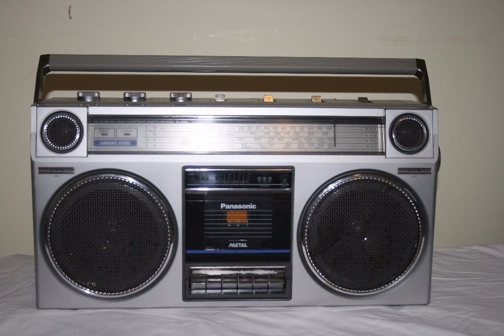 retro 1980s ghetto blaster boombox panasonic rx 5025ls le in cheltenham gloucestershire. Black Bedroom Furniture Sets. Home Design Ideas
