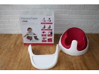 Mamas and Papas pink Raspberry snug seat with tray CAN POST