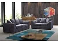 GET THE BEST SELLING BRAND EVER -NEW JUMBO CORD BYRON CORNER / 3+2 SOFA SET -BEST SELLING BRAND