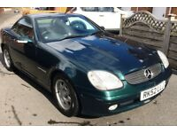 Mercedes SLK 200 Auto Convertible in lovely condition