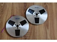 7'' 18cm Akai Take Up Reels Metal Precision Reel