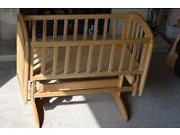 John Lewis Anna Glider Crib (RRP £100)