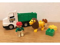 LEGO DUPLO Zoo Truck (6172) with lion