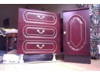 FREE bedside tables/locker and drawers