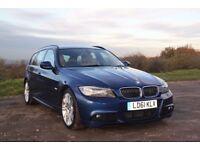 2011 BMW 3 Series 3.0 325d M Sport Touring 5 dr. Diesel, Auto, 46200 miles, FSH (BMW Dealership)