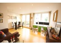 TOP FLOOR 1 BED WITH TERRACE AREA OFFERED FURNISHED IN HELION COURT CANARY WHARF E14