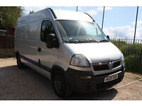 VAUXHALL MOVANO 3500, 2.5L DIESEL VERY CLEAN AND TIDY, NEW MOT, BARGAIN