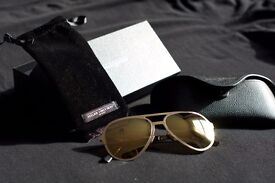 New Atelier Vingt-Deux Gold sunglasses, Calligaris Chair, Mirrored Chest, Large Rooster