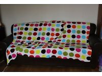 Bundle of fleece blankets