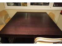 Cheap Sturdy Dining Table with 4 Bar Chairs, QUICK SALE