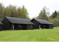 Percy Wood, Northumberland**Log cabin breaks from £180.00**