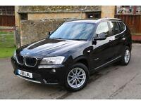 BMW X3 2.0TD ( 184bhp ) 2011 58k miles 4x4 xDrive20d SE 6 SPEED MANUAL