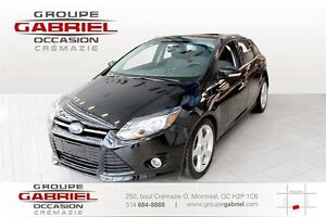 2014 Ford Focus Titanium Hatch SNOW TIRES INCLUED
