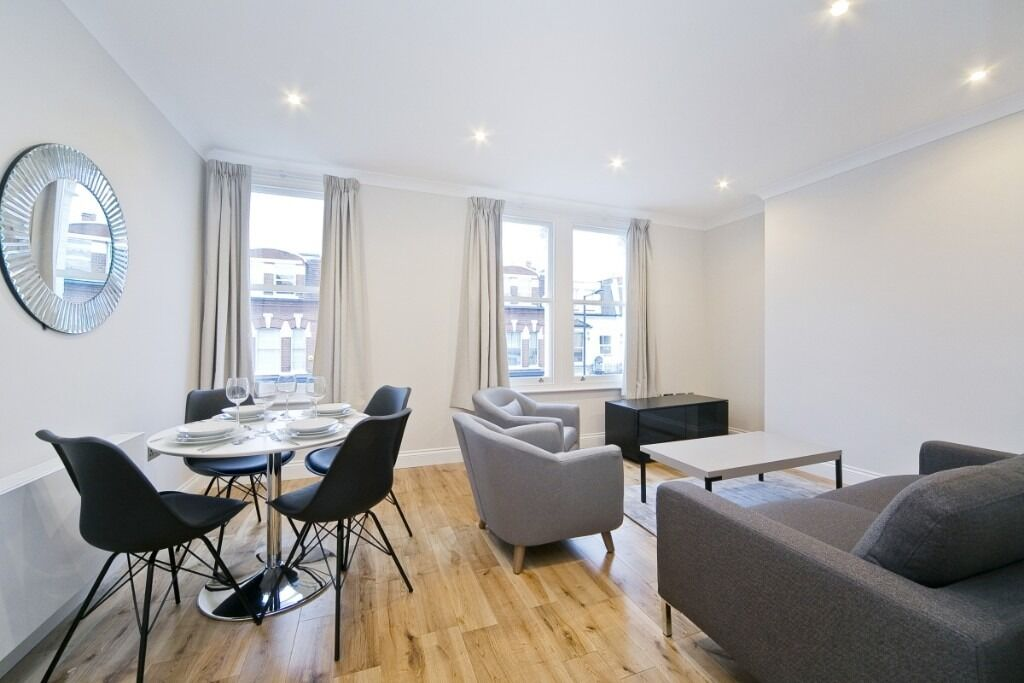 A stunning recently refurbished two double bedroom, two bathroom flat, Dawes Road, SW6
