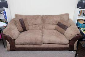 Large 3-seater DFS 'Samson' sofa
