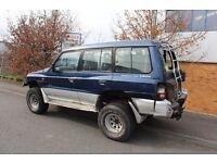 1998 Mitsubishi shogun/pagero 4x4 lifted spares or repairs patrol nissan pajero as-is .