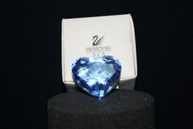 Swarovski Heart Blue