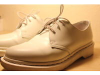 Dr. Martens Shoes - White - UK Size 6 / European Size 39-40