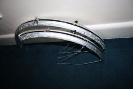 plastic bicycle mudguards size 26""
