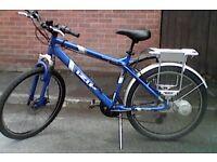 gents electic mountain bike needs tlc to electrics