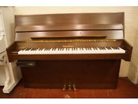 Excellent Woodchester upright piano with PianoDisk system. UK delivery. Video Demo