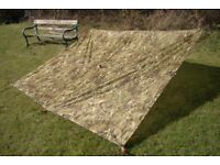 NEW - Genuine British Army Issued MTP BASHA / Shelter / Tarp