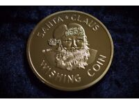 Gold Christmas Wishing Coin