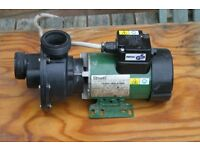"""A Stuart electric """"Whirlpool"""" motor 230v 50Ph with air switch."""