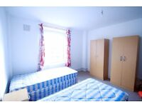BEAUTIFUL TWIN ROOM IN KENTISH TOWN, 5MIN TO THE UNDERGROUND REF:34A