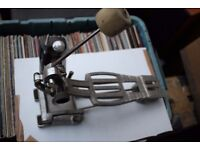 Premier 252 single compression bass drum pedal - Leicester - '80s - later version