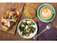 Cafe Chef required for Australian/NZ style specialty coffee cafe in London