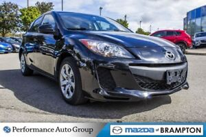 2013 Mazda MAZDA3 GX. KEYLESS. MP3. CD. BUCKETS. PWR STEERING